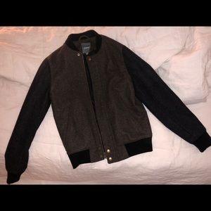 Men's Bonobos 100% Wool Bomber Jacket